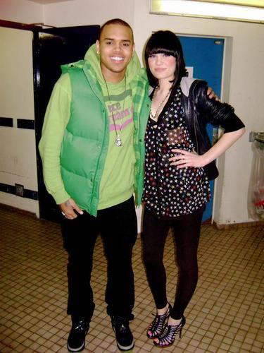 Jessi J and chris Brown