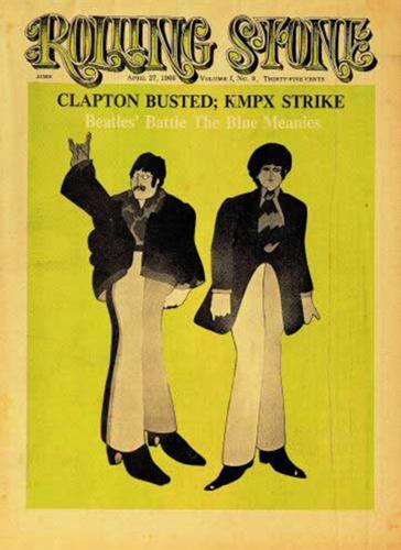 John and Paul animated