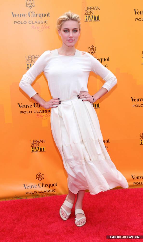 ed0d02683f01c1 June 5th, 2011 - Veuve Clicquot Polo Classic - Amber Heard Photo ...