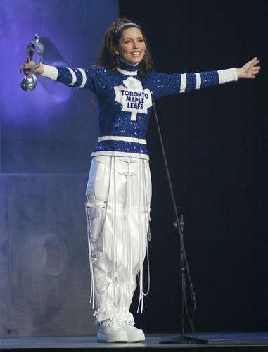 Shania Twain karatasi la kupamba ukuta entitled Juno muziki Awards 2003