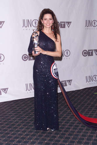 Shania Twain wallpaper titled Juno Music Awards 2003