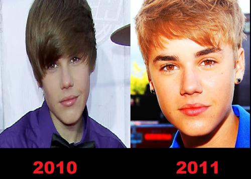 Justin Bieber Then & Now! <3