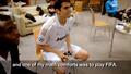 Kaka playing FIFA :) New photo.