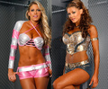 Kelly Kelly and Eve