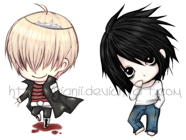 death note chibi light - photo #32