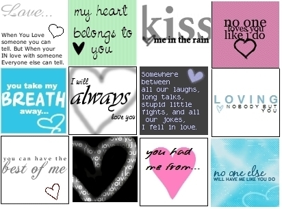 pag-ibig QUOTES<3