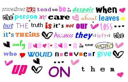 Amore QUOTES<3