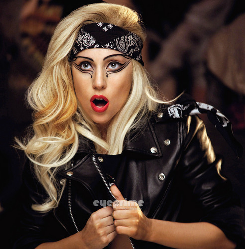 "Lady Gaga ""Judas"" Musik Video Stills"