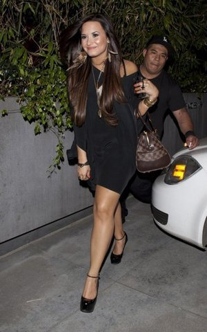 Demi Lovatobirthday on Leaving Darnell Applings Birthday   Demi Lovato Photo  22621219