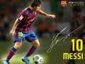 Lionel Messi 2009/10 - fc-barcelona wallpaper