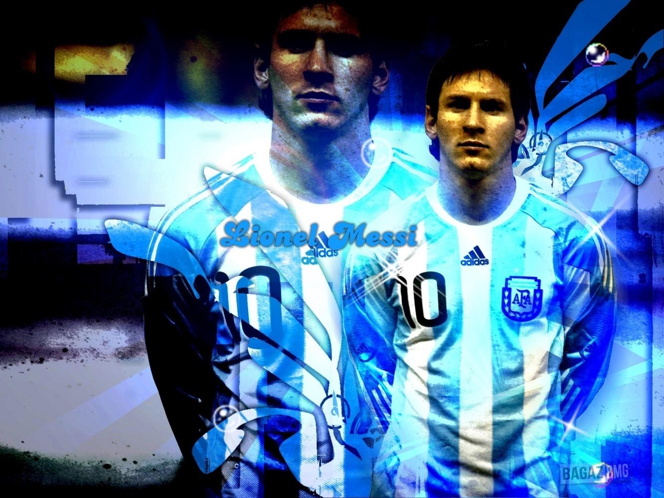 Lionel Messi Argentina Обои