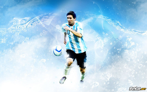 Lionel Andres Messi wallpaper probably with a water entitled Lionel Messi Argentina Wallpaper