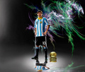 Lionel Messi Argentina Wallpaper - lionel-andres-messi fan art