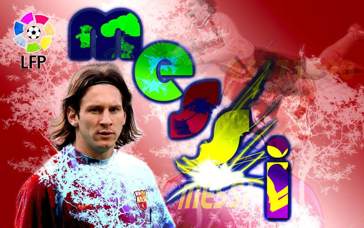 Lionel Messi FC Barcelona Hintergrund