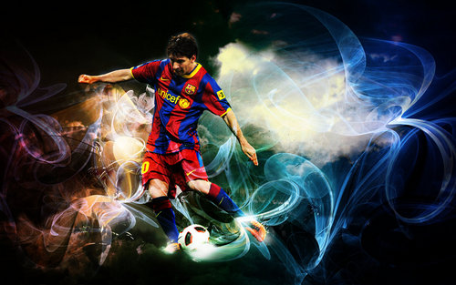 Lionel Andres Messi wallpaper entitled Lionel Messi FC Barcelona Wallpaper