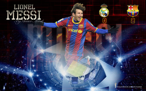 Lionel Andres Messi wallpaper called Lionel Messi FC Barcelona Wallpaper