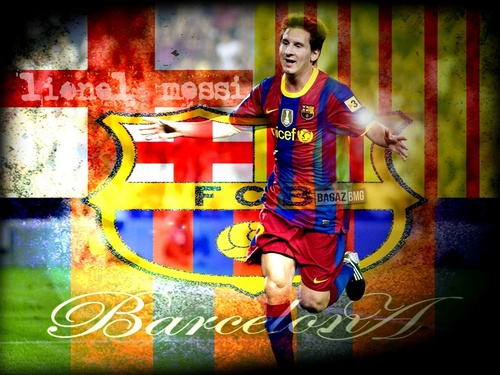 Lionel Andres Messi wallpaper probably containing anime titled Lionel Messi FC Barcelona Wallpaper
