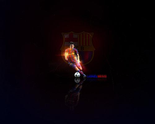 Lionel Messi FC Barcelona wolpeyper