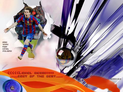 Lionel Messi FC Barcelona karatasi la kupamba ukuta