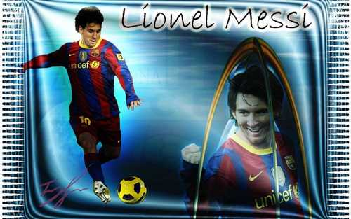 Lionel Andres Messi hình nền with anime called Lionel Messi FC Barcelona hình nền