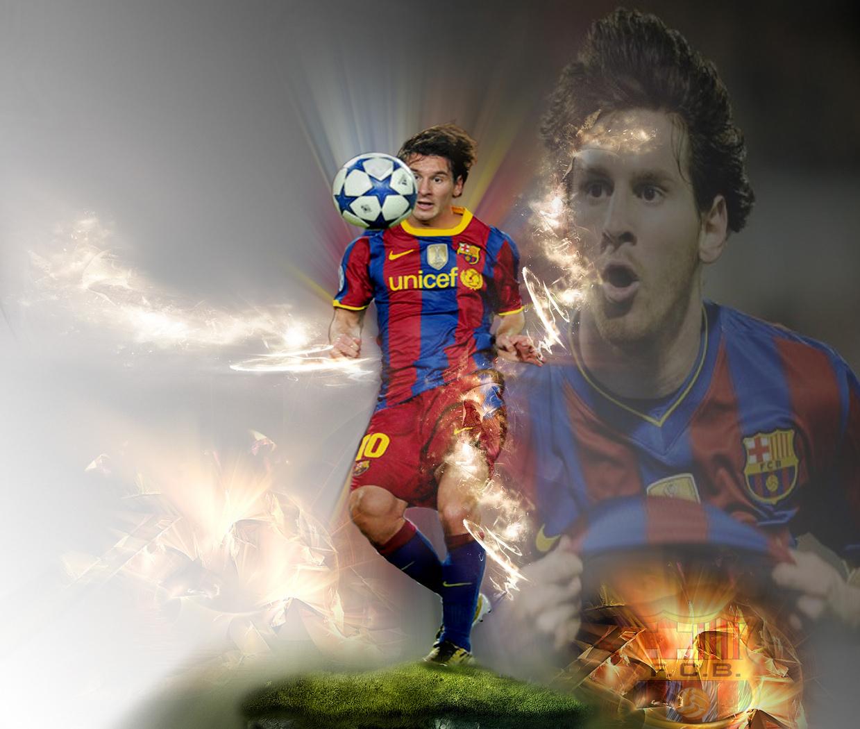Lionel Messi FC Barcelona 壁纸