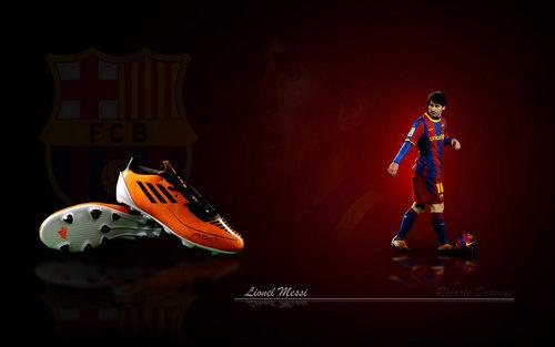 Lionel Messi FC Barcelona پیپر وال
