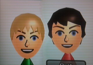 Louis and Niall mii