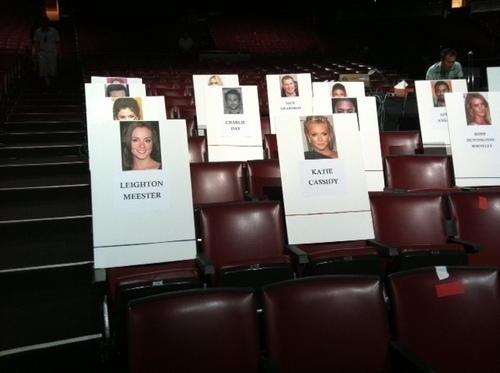 MTV Movie Awards - Seats