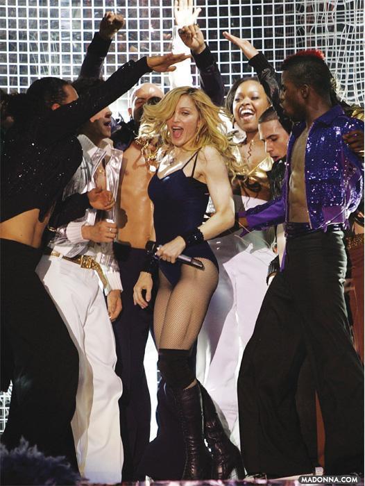 """Madonna @ the 2006 """"Coachella musique Festival"""""""