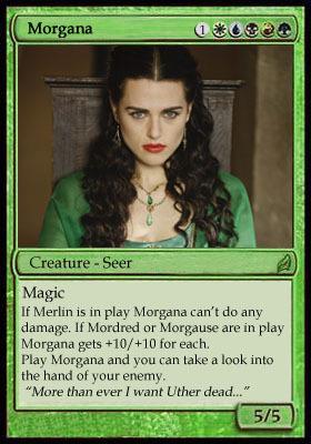 Magic Card - Morgana