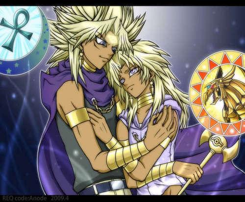 Marik and his Yami