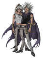 Marik and his Yami - yu-gi-oh photo