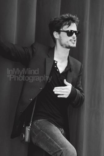 Matthew at Monte Carlo TV Festival 2011