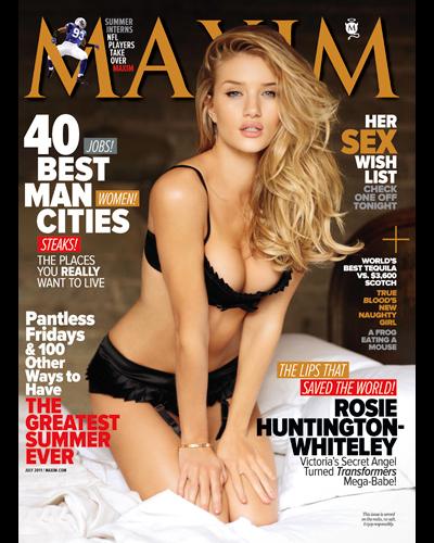 Maxim July 2011
