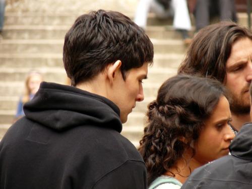 Merlin, Gwen, and Gwaine