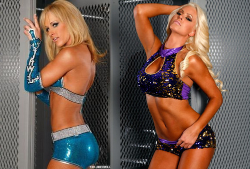 Michelle McCool and Maryse