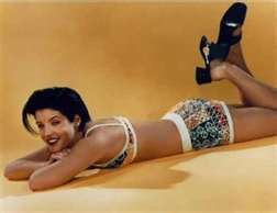 Lisa Marie Presley fond d'écran with skin entitled Model