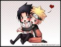 Narusasu - sasunaru fan art