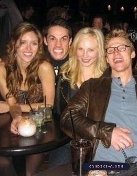New/Old personal foto of Candice!