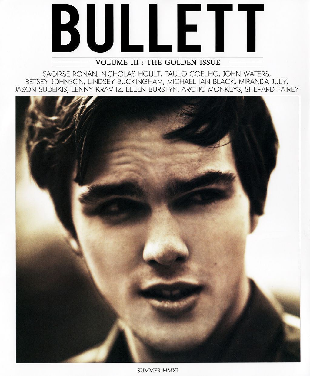 Nicholas Hoult for Bullett