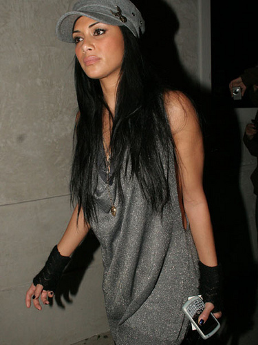 니콜 셰르징거 바탕화면 possibly with an outerwear and a hip boot entitled Nicole Scherzinger