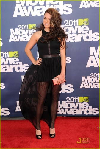 Nikki Reed: MTV Movie Awards 2011 with Paul McDonald