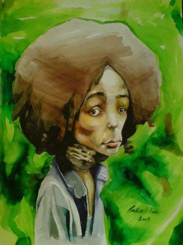 Nneka Caricature