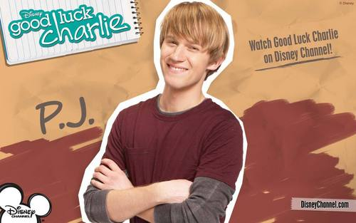 Good Luck Charlie দেওয়ালপত্র possibly with a portrait called PJ