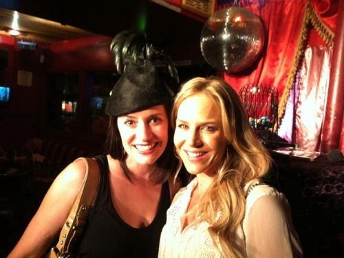 Paget and Julie Benz
