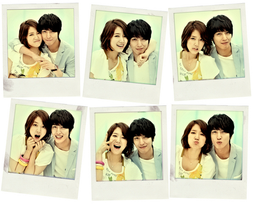 Park Shin Hye & Jung Yong Hwa Heartstrings Couple Pics