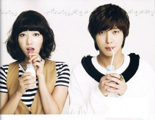 Park Shin Hye & Jung Yong Hwa
