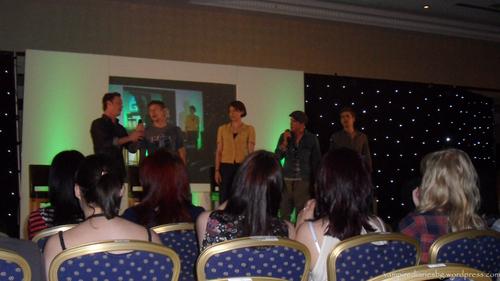 Paul, Michael, David, Zach and Lauren in Birmingham (Insurgence)