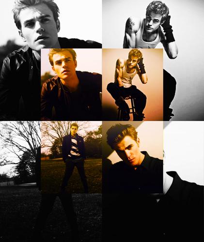 Paul Wesley/Stefan Salvatore.