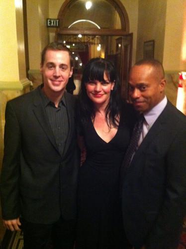 Pauley, Sean Murray & Rocky Carroll